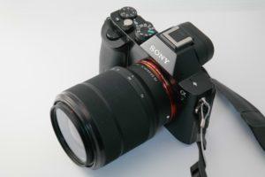 Sony Vollformat-Kamera